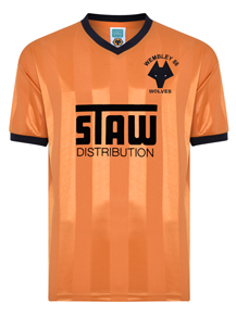 Wolves 1988 Sherpa Van Trophy shirt