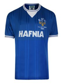 Everton 1984 FA Cup Final Retro Football Shirt
