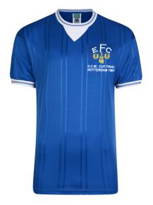 Everton 1985 ECWC Final Retro Football Shirt